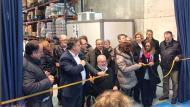 Inauguració oficial del banc d'aliments de l'Anoia