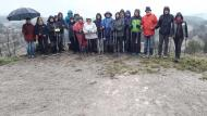Argençola: 3a sessió Marxa Nòrdica  Natxo Oñatibia