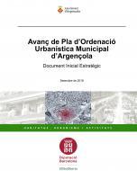 Aprovació de l'Avanç del Pla d'Ordenació Urbanística Municipal d'Argençola.