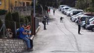 Argençola: tornant de la caminada  Ramon Sunyer
