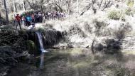 Contrast: Saltant del toll del molí nou  Natxo Oñatibia