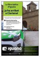 Xerrada informativa 'la fibra òptica a Clariana'