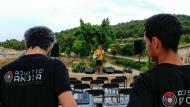 Rocamora: preparatius del concert  Martí Garrancho