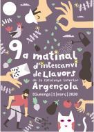 cartell 9a Matinal d'Intercanvi de Llavors de la Catalunya Interior