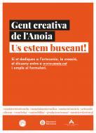 'Gent creativa de l'Anoia, us estem buscant!', nova campanya del Consell Comarcal de l'Anoia