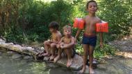 Argençola: Excursió al gorg  Animans