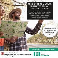 Sessions formatives gratuïtes per al sector turístic