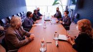 L'Associació de Micropobles de Catalunya lliura a Pere Aragonès un decàleg per a la transició energètica