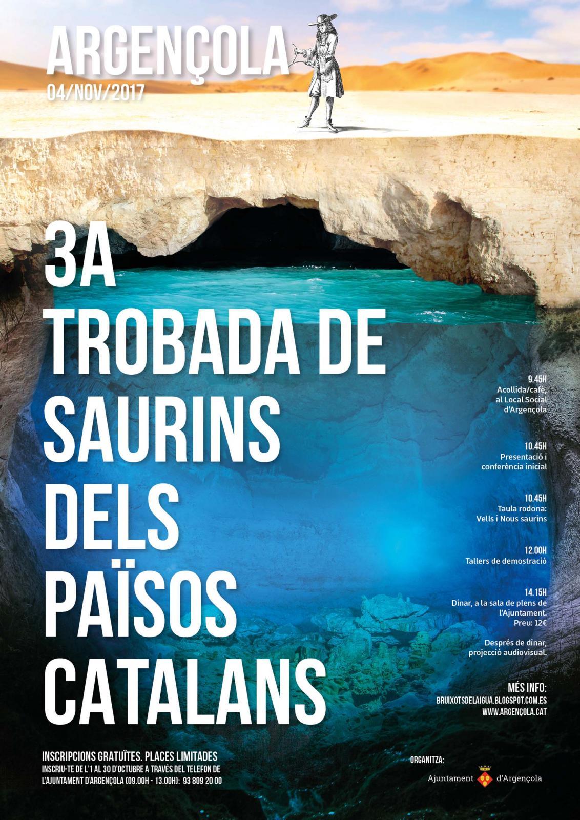 cartell 3a Trobada de Saurins dels Països Catalans