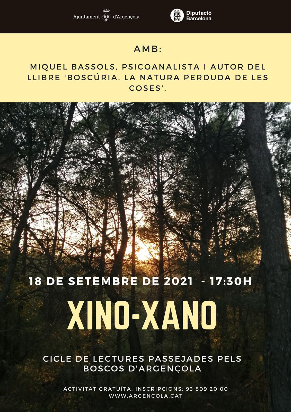 cartell Xino-xano, Boscúria