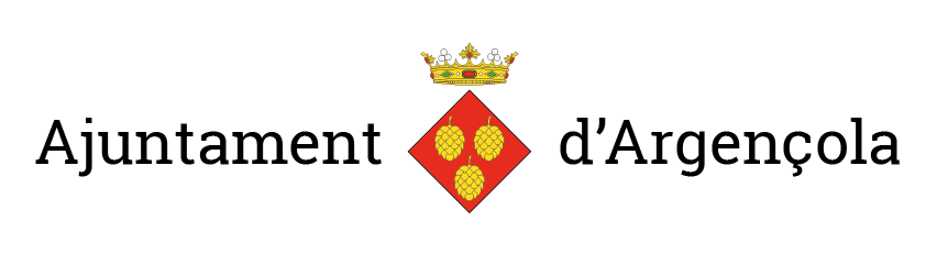 Logotip Argençola ajuntament apaisat