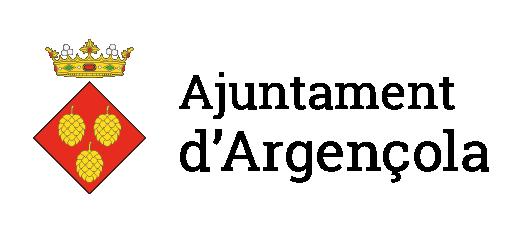 Logotip Argençola ajuntament horitzontal