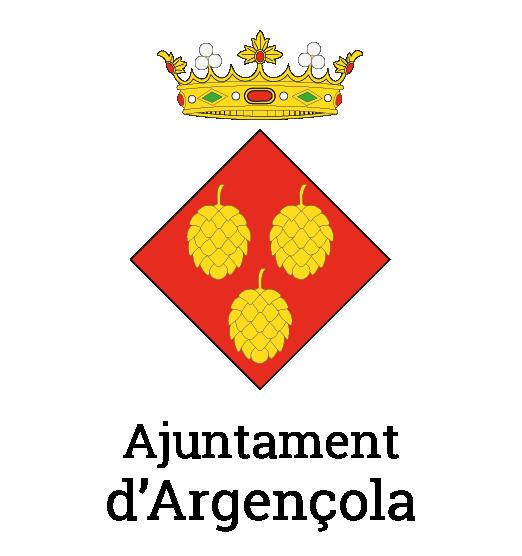 Logotip Argençola ajuntament vertical