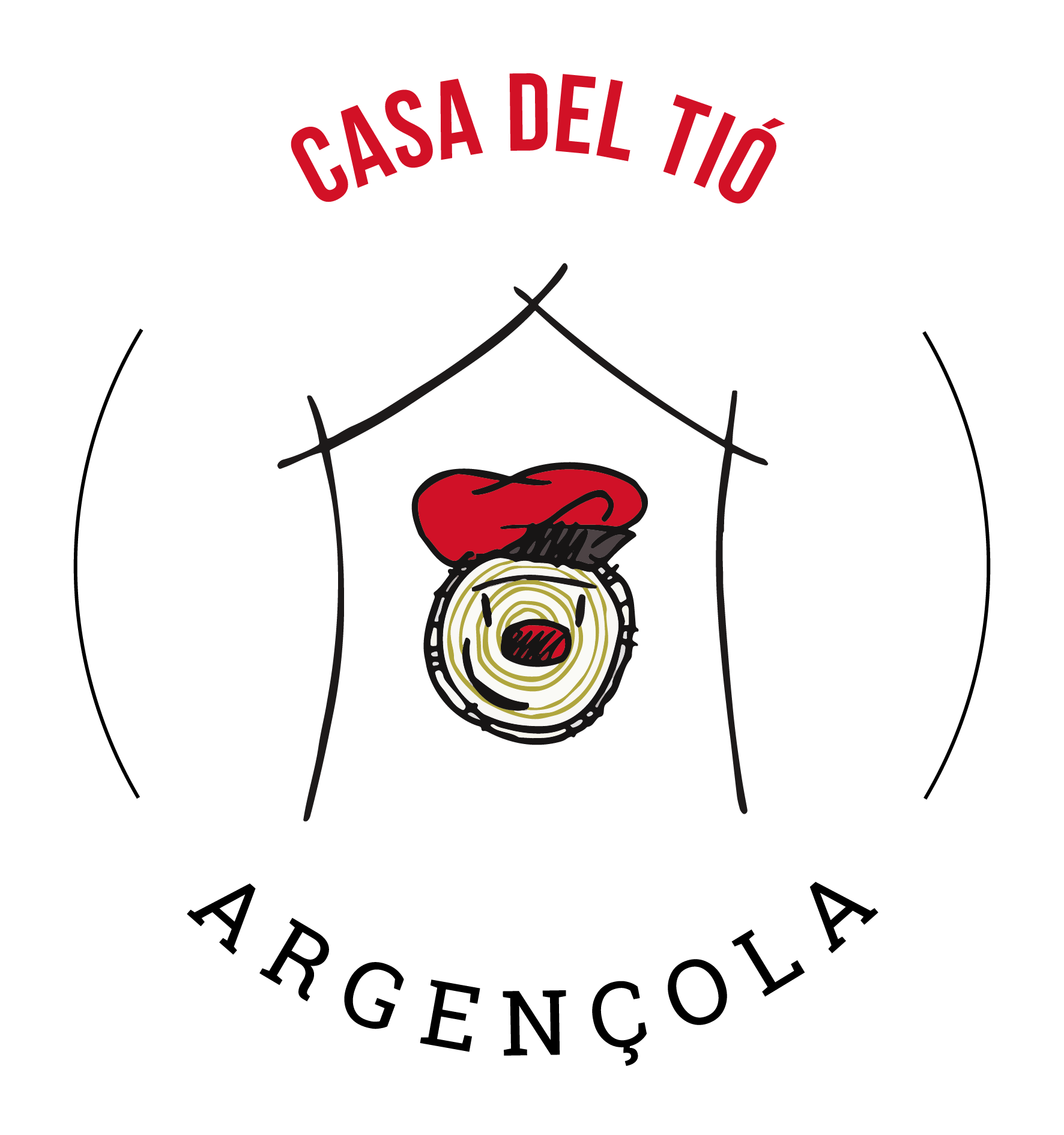 Logotip Argençola Casa del Tió
